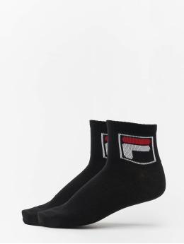 FILA Socken Quarter 2 Paar schwarz