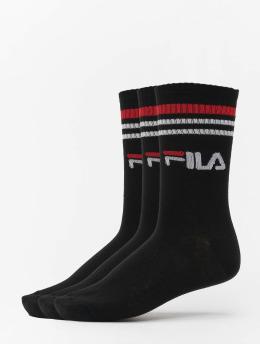 FILA Socken Street 3 Pack  schwarz