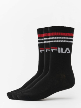 FILA Socks Street 3 Pack  black
