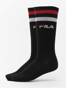FILA Socks Basket 2 Pack  black