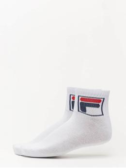 FILA Socks Quarter 2 Pack white