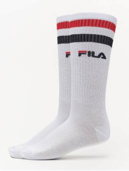 FILA Socks Basket 2 Pack white