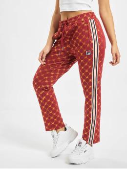 FILA Spodnie do joggingu Urban Line Gvantsa Cropped  czerwony