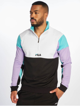 FILA Swetry Urban Line Keith Half Zip czarny