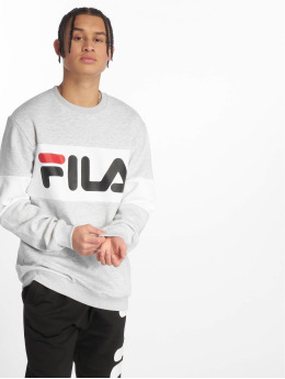 FILA Swetry Urban Line Straight Blocked szary