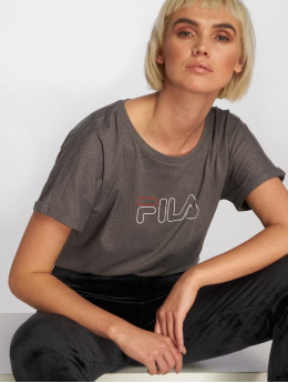 FILA t-shirt Power Line Ludi grijs