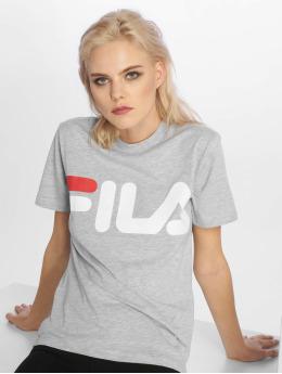 FILA t-shirt Petite Basic Classic Logo grijs