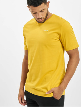 FILA T-Shirt Bianco Unwind jaune