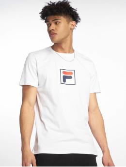 FILA t-shirt Urban Line Print Evan wit