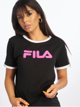 FILA t-shirt Ashley  zwart
