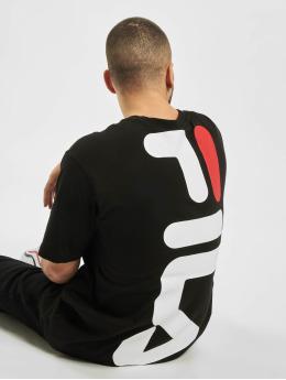 FILA t-shirt Line Anatoli Dropped Shoulder zwart