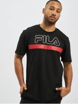 FILA T-Shirty Rosso Laurentin czarny