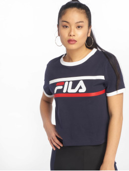 FILA T-Shirty Urban Line Ashley Cropped niebieski