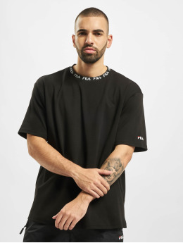 FILA T-skjorter Urban Line Tamotsu Dropped Shoulder  svart