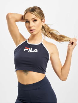 FILA Top Bebe Halter Neck blau