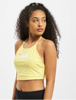FILA Top Bebe Halter yellow