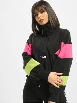 FILA Tröja Urban Line Rafiya Half Zip Fleece svart