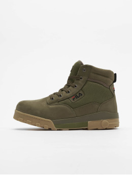 FILA Vapaa-ajan kengät Heritage Grunge Mid oliivi