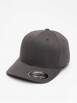 Flexfit Бейсболкa Flexfit Wooly Combed Flexfitted Cap серый