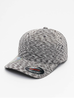 Flexfit Casquette Flex Fitted Stripes Melange  gris