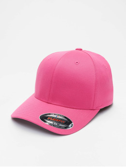 Flexfit Casquette Flex Fitted Wooly Combed magenta