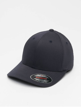 Flexfit Flexfitted Cap Wooly Combed Flexfitted blauw