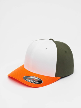 Flexfit Flexfitted Cap 3-Tone oranžová
