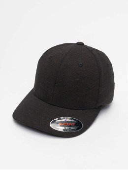 Flexfit Flexfitted Cap Natural Melange schwarz