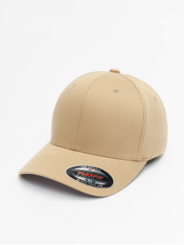 Flexfit Gorras Flexfitted Wooly Combed caqui