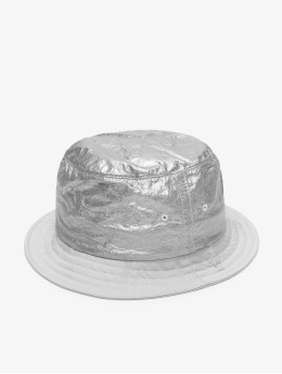 Flexfit Hat Crinkled Paper silver colored
