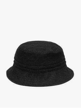 Flexfit Hut Denim Bucket schwarz