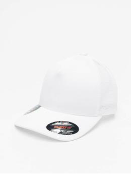 Flexfit Lastebilsjåfør- / flexfitted caps Jaquard Camo  hvit