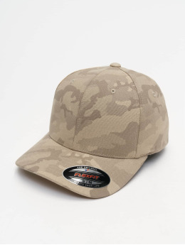 Flexfit Lastebilsjåfør- / flexfitted caps Light Camo kamuflasje