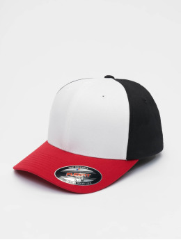 Flexfit Lastebilsjåfør- / flexfitted caps 3-Tone red