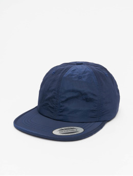 Flexfit Snapback Cap Adjustable Nylon blau