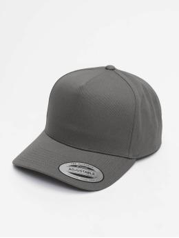 Flexfit snapback cap 5-Panel Curved Classic grijs