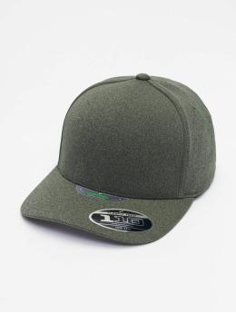 Flexfit Snapback Cap 110 Melange Unipanel grün