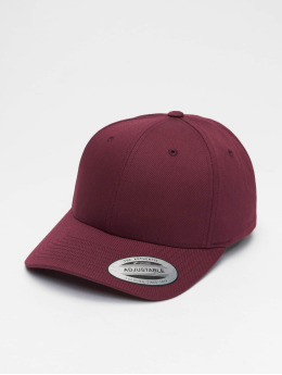 Flexfit snapback cap Curved Classic  rood