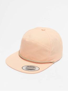 Flexfit snapback cap Color Braid Jockey rose