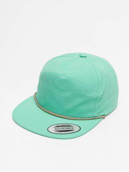 Flexfit snapback cap Color Braid Jockey turquois