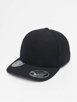 Flexfit snapback cap 110 Velcro Hybrid zwart