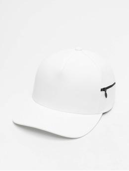 Flexfit Snapback Caps 110 Pocket bialy