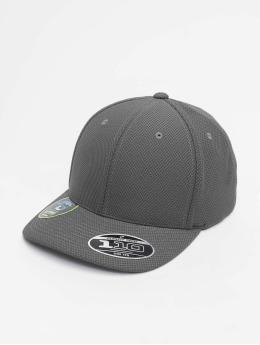 Flexfit Snapback Caps 110 Velcro Hybrid harmaa