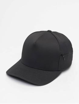 Flexfit Snapback Caps 110 Pocket musta