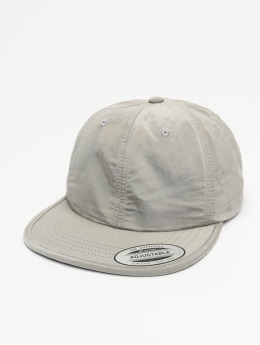Flexfit Snapback Caps Adjustable Nylon sølv