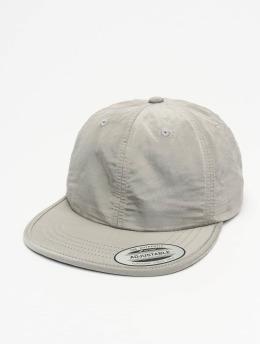Flexfit Snapback Caps Adjustable Nylon stříbro