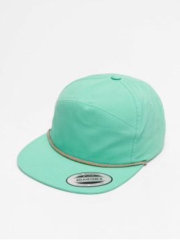 Flexfit Snapback Caps Color Braid Jockey turkusowy