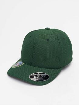 Flexfit Snapback Caps 110 Velcro Hybrid zelený