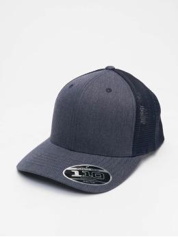 Flexfit trucker cap 110 Flexfit Melange blauw