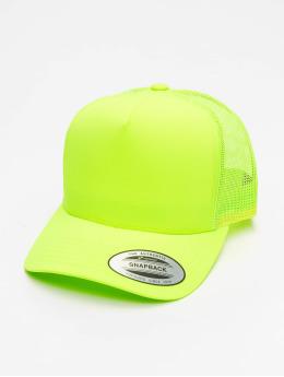 Flexfit trucker cap Neon Retro geel